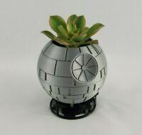 Death Star Planter, Succulent Planter Pot, Star Wars Geeky Gift