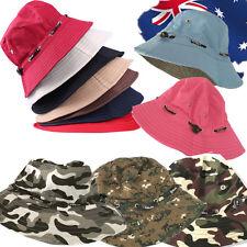 Unisex Foldable Hat Army Camouflage Bucket Beach Sun Block Hiking Safari CAHAT41