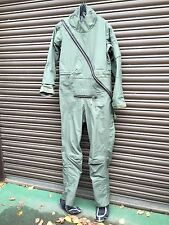 RAF SURPLUS OG BEAUFORT COVERALL AIRCREW IMMERSION SUIT MK20A SIZE 5E, DRYSUIT