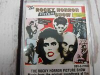 Vintage Cassette Tape THE ROCKY HORROR PICTURE SHOW Movie Soundtrack 1975