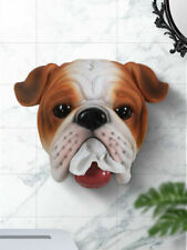 Bathroom Resin Hanger Toilet Roll Paper Holder Wall Mounted Holding Dog Decor