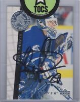 Felix Potvin 1996 Be A Pro NHLPA Autograph Series Hard Signed Leafs