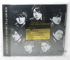 Kis-My-Ft2 MUSIC COLOSSEUM 2017 Taiwan CD -Normal Edition-