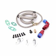 OIL DRAIN RETURN / FEED LINE KIT TOYOTA 1JZGTE 2JZGTE 1JZ 2JZ SUPRA SINGLE TURBO