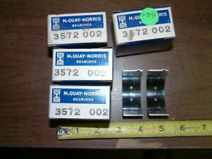 NOS Willys 48-9 all 6 cyl. station wagon and station sedan Engine Bearing Set