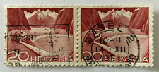 Helvetia 20 Technology and Landscape Stamp 1949 x 2