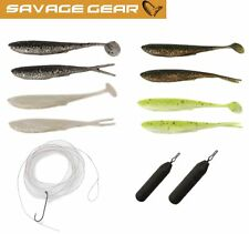 Savage Gear Finezze Dropshot Kit - Drop Shot Angelset, Dropshot Set für Barsche