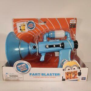 Despicable Me 2 FART BLASTER Minion Gadget Gun Lights & Sounds Brand New Ages 4+