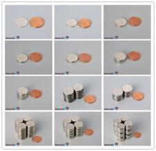 """Multiple Size 16mm 5/8""""dia Rare Earth Neodymium Magnet Disc"""