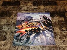 Tom Scholz Rare Authentic Signed Boston Walk On Limited Edition Vinyl Record COA