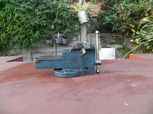 "Heavy Duty 4"" 100mm Work Bench Vice Engineer"
