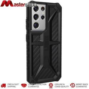 UAG Monarch Rugged Case Samsung S21 ULTRA 5G 6.8 - Carbon Fibre