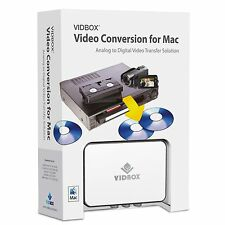 "Convert Transfer Old VHS Tapes, Beta 8mm, Camcorder Tapes to DVD-""Mac Solution"""