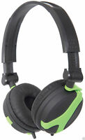 QTX QX40 Stereo OFC Leather Cushioned Foldable Headphones 1.5m