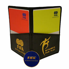 FIFA Fair Play Soccer (Football) Referee Coin,Score Sheet,Cards and Wallet Combo