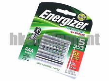 energy extreme Rechargeable AAA LR3 800 mAh NiMH 1.2v Battery x4 w/CASE