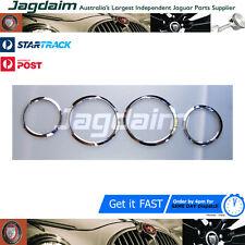Jaguar S Type Chrome Headlight Trims