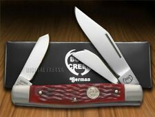 BUCK CREEK Red Diamondback Stockman Pocket Knife 659RPB Knives