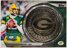 2014 Topps AARON RODGERS Commemorative NFL Kickoff Coin #NFLKC-AR PACKERS