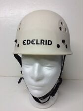 2005 Edelrid Ultralight Rock Climbing Caving Safety Helmet White 54-60 cm