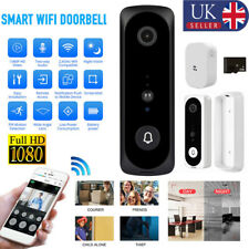 1080P HD Wireless Smart Doorbell Video Intercom Door Bell Smart Security Wifi UK