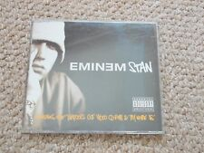 EMINEM, STAN, RARE CD SINGLE - 4 TRACKS INC. DIRECTOR'S CUT VIDEO CD-ROM.
