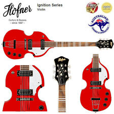 Hofner 6-String Guitar (Cherry, Ignition [Limited Edition: HI-459]) *Brand New*