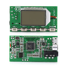 LCD FM Transmitter Digital Module DSP PLL Wireless Stereo Microphone 87-108MHz