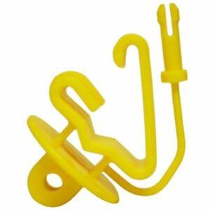 Zareba ITPLY-Z Pin-lock T-Post Insulator 25 per Bag