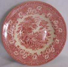 ENGLISH IRONSTONE china KINGSWOOD Pink pattern RIMMED SOUP Bowl