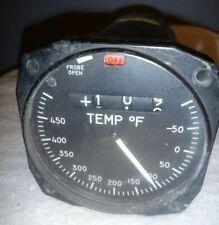 Howell Instruments Aviation Temperature Gauge 115V, 400 HZ, Vintage