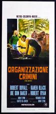"""CINEMA-locandina ORGANIZZAZIONE CRIMINI """"THE OUTFIT"""" duvall,black,FLYNN"""