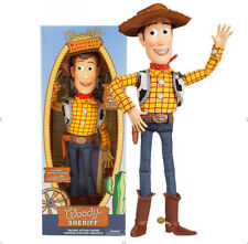 Creative Toy Story 4 Deluxe Talking Woody Doll Action Figure 38cm Toy Detector