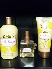 Bath & and Body Works Hello Sugar Splash Mist, Lotion & 3in1 Wash Set Lot Rare