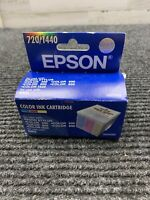 Epson 720/1440 Color Ink Cartridge S020089 Single Pack Exp. 02/2001 New In Box