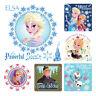 Frozen Stickers x 6 - Birthday Party Supplies Favours Loot Frozen Dental Rewards