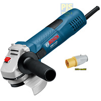 Bosch GWS7-115 110v 115mm 4.1/2in angle mini grinder 3 year warranty option