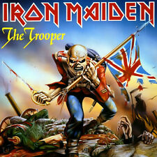 Iron Maiden – The Trooper Vinyl LP Cover Sticker or Magnet