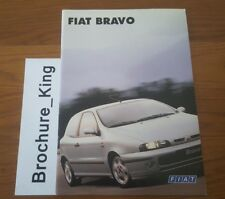 Fiat Bravo Feb 1997 Brochure S 1.4 TD SX 1.6 HLX 1.8 HGT 2.0