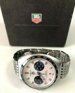 """TAG HEUER AUTAVIA RE-EDITION """"SIFFERT""""  CY2110 CALIBER 11 - FULL SET EXCELLENT !"""