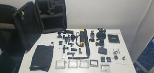 GO PRO ACCESSORIES JOB LOT INCLUDES BATTERIES, CASES  AND MUCH MORE