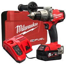 Milwaukee 18v Fuel Brushless Hammer Drill Driver M18 Battery Combo Kit -au Stock