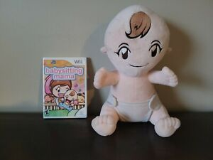 Babysitting Mama (Nintendo Wii, 2010) Complete With Doll and Manual