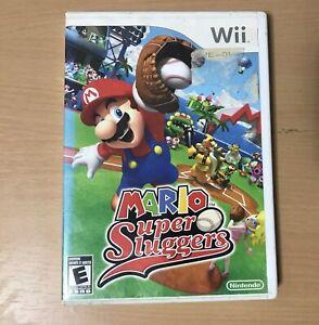 Mario Super Sluggers (Wii, 2008) No Manual Untested
