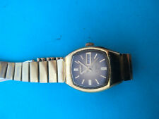 Vintage SEIKO Automatic 2206-3040 Hi-Beat Day/Date Gold plated Ladies Watch_794