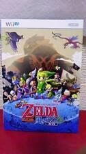 LEGEND OF ZELDA WIND WAKER HD 2013 JAPAN GAME PROMO BOOKLET NINTENDO RPG WIIU