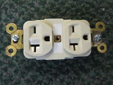 Hubbell Duplex Receptacle HBL45621 20A 250V *Lot of 2* New Surplus
