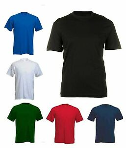 Mens Breathable Premium T Shirts By MIG Sizes XS to 7XL - SPORT LEISURE WORK