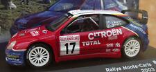 NEW 1/43 CITROEN XZARA WRC 2003/MACRAE/RINGER!SUPERB!