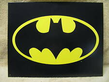 Batman Logo Tin Metal Sign Super Hero NEW DC Comics